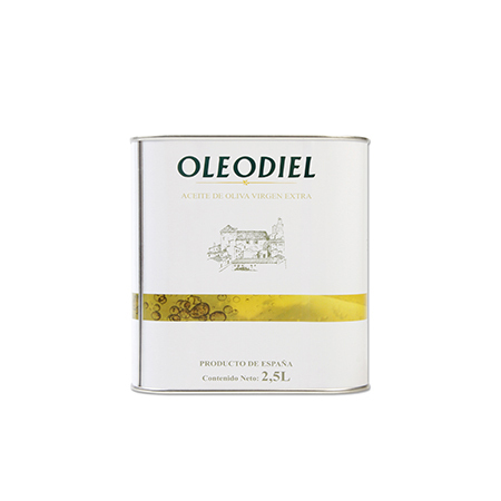 Aceite de Oliva Virgen Extra Oleodiel Coupage, Arbequina + Picual Lata 2,5 l